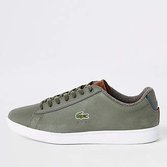 e5fee1ea6dc09 Lacoste Green Trainers For Men - ShopStyle UK
