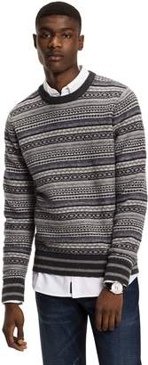 Tommy Hilfiger Intarsia Lambswool Sweater