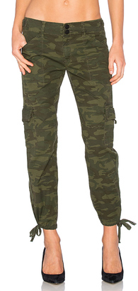 Sanctuary Terrain Crop Cargo Pant in Olive $99 thestylecure.com