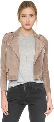 Capulet Suede Moto Jacket $394 thestylecure.com