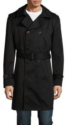 Lauren Ralph Lauren Edmond Double-Breasted Raincoat