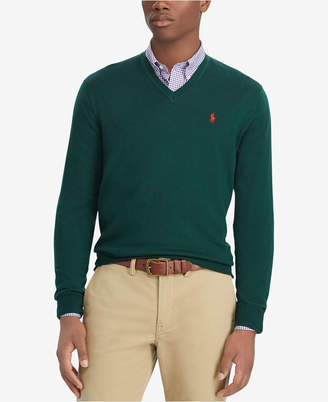 Polo Ralph Lauren Men's Merino Wool V-Neck Sweater