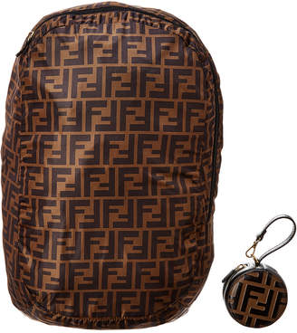 Fendi Backpack & Charm Leather Coin Purse