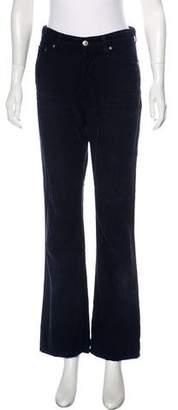 ALEXACHUNG x AG High-Rise Corduroy Jeans