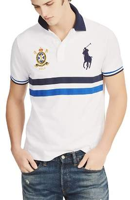 Polo Ralph Lauren Striped Mesh Polo Shirt