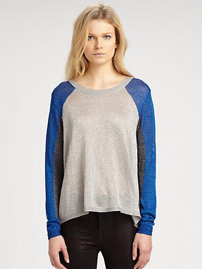 Aiko Kern Metallic Sweater