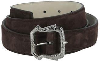 Brioni Leather Suede Belt