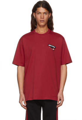 Versus Red Logo T-Shirt