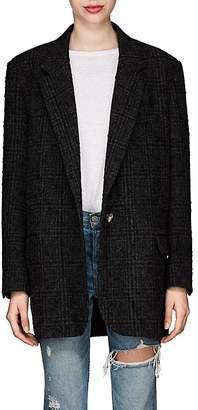 Etoile Isabel Marant Women's Orix Plaid Wool Blazer