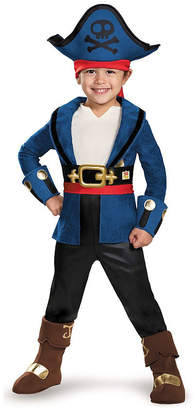 BuySeasons Captain Jake and The Neverland Pirates Captain Jake Deluxe Toddler Boys Costume