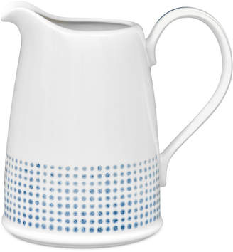 Noritake Blue Hammock Pitcher, Created for Macy's