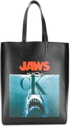 Calvin Klein x Jaws printed tote bag
