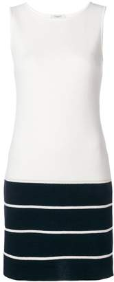 Charlott colour block knit dress
