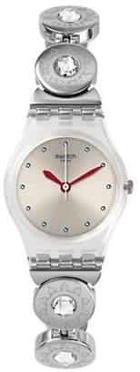 Swatch Analog Stainless Steel Bracelet Watch