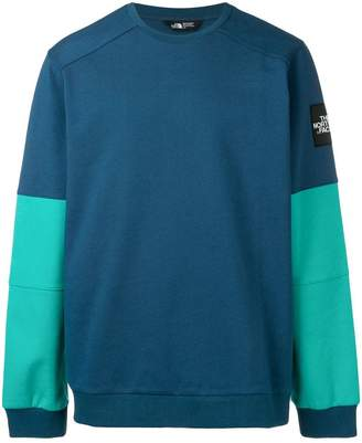 The North Face logo patch sweatshirt