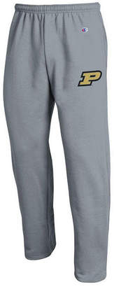 Champion Men's Purdue Boilermakers Powerblend Open Bottom Sweatpants