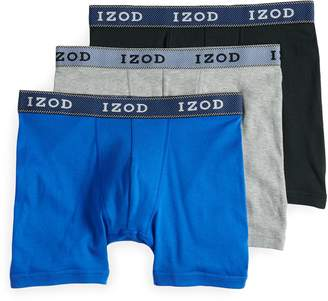 Izod Men's 3-pack Classic-Fit Boxer Briefs