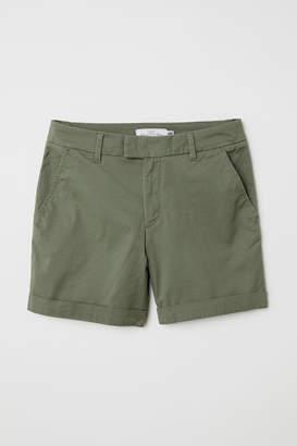 H&M Short Chino Shorts - Green