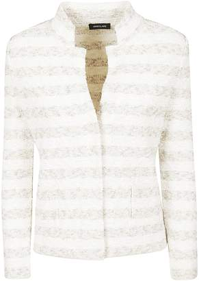 Anne Claire Anneclaire Striped Cardigan