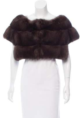 J. Mendel Sable Fur Bolero