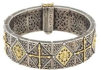 Konstantino Two-Tone Bracelet