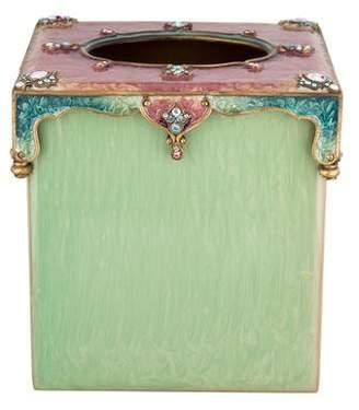 Jay Strongwater Embellished Tissue Box