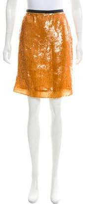 J.Crew J. Crew Sequined Knee-Length Skirt w/ Tags