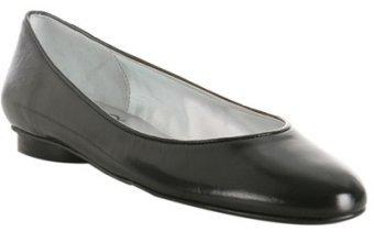 Delman Shoes black patent leather 'Madelia' flats
