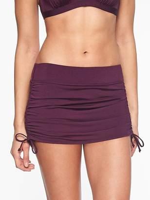 Athleta Aqualuxe Side Scrunch Skirt