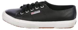 Superga Leather Low-Top Sneakers