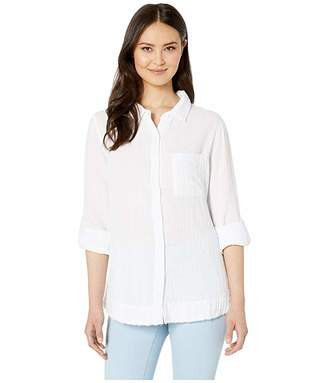 True Grit Dylan by Soft and Light Double Gauze Roll Tab Long Sleeve One-Pocket Shirt
