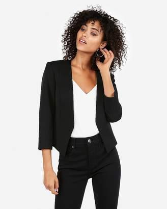 Express Black Cutaway Blazer