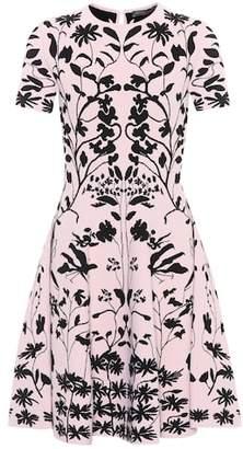 Alexander McQueen Knitted minidress