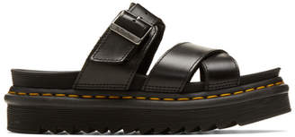 Dr. Martens Black Ryker Sandals