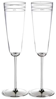 Kate Spade 'darling Point' Champagne Flutes