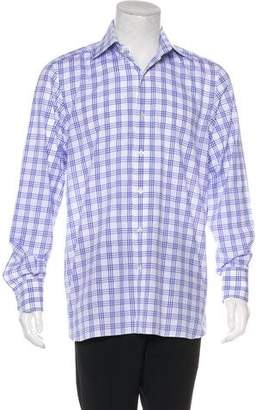 Tom Ford Check Button-Up Shirt