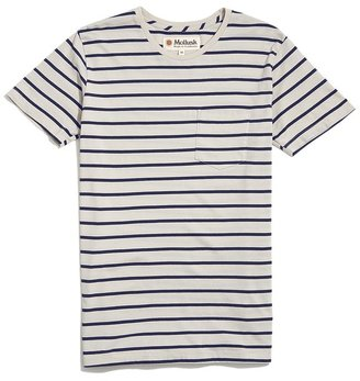 Mollusk Striped Pocket Tee $50 thestylecure.com