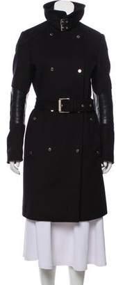 Belstaff Wool Knee-Length Coat