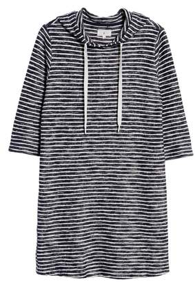 Lou & Grey Textureline Hoodie Dress