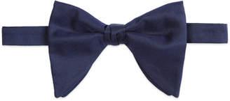 Long silk faille bow tie $170 thestylecure.com