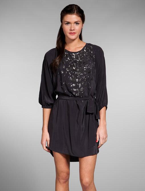 Rebecca Taylor Evening Shirt Dress