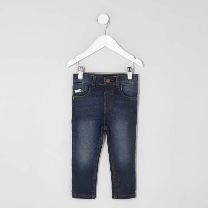 Mens Mini boys dark Blue Sid skinny jeans