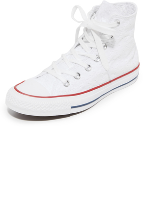 Converse Chuck Taylor All Star High Top Sneakers $70 thestylecure.com