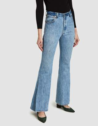 RE/DONE Levi's High Rise Ultra Flare Slit Jean