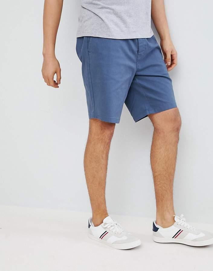 – Chino-Shorts mit elastischem Bund