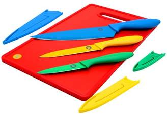Weight Watchers Everson 4 Piece Cutlery & Cutting Board Set
