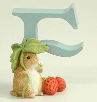 "Child to Cherish Baby Pastel Animal Alphabet Letter ""F"""