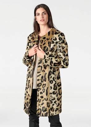 Heine Animal Print Coat