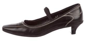 Prada Sport Patent Leather Buckle-Accented Pumps clearance shopping online outlet nicekicks supply cheap price PyhV5Wm