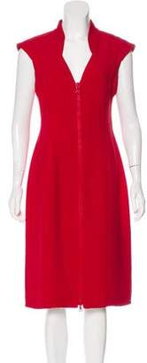 Prada Crepe Bodycon Dress